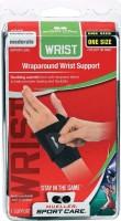 Mueller Wrist Support Wrap Wrist Support (Free Size, Black)