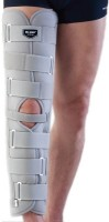 Dr.Med K105 Long Immobilizer Knee, Calf & Thigh Support (XL, White)