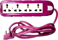 View Smart Products Extension Cord 12 Socket Surge Protector(Purple, White) Laptop Accessories Price Online(Smart Products)