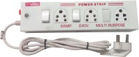 VERSON ED1433VR 3 Socket Surge Protector(White)