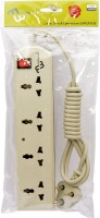 View Multybyte 1.8m 4 Socket Power Extension 4 Socket Surge Protector(White) Laptop Accessories Price Online(Multybyte)