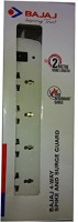 View Bajaj 4-Way Spikeguard 4 Socket Surge Protector(White) Laptop Accessories Price Online(Bajaj)