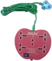 View Hilex Apple Strip 5 Socket Surge Protector(Red) Laptop Accessories Price Online(Hilex)