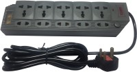 View Antex HG 816 5 Socket Surge Protector(Black) Laptop Accessories Price Online(Antex)