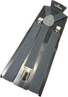 loopa Y- Back Suspenders for Men(Grey)