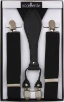 Eccellente Y- Back Suspenders for Men(Black)