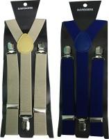 atyourdoor Y- Back Suspenders for Men(Brown)