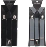 atyourdoor Y- Back Suspenders for Men(Black, Grey)