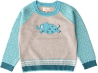 Weedots Printed Round Neck Casual Baby Boys & Baby Girls Multicolor Sweater