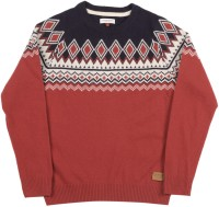 Us Polo Kids Round Neck Casual Boys White, Red Sweater