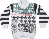 Addyvero Geometric Print Round Neck Casual Boys Multicolor Sweater