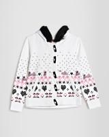 Barbie Full Sleeve Printed Girls Sweatshirt