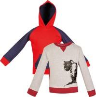 Gkidz Full Sleeve Printed Boys Sweatshirt