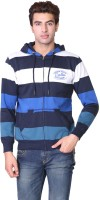 Wake Up Competition Full Sleeve Striped Mens Sweatshirt