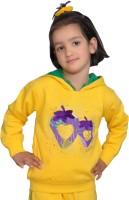 Shaun Full Sleeve Printed Girls Sweatshirt