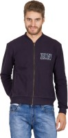 Hypernation Full Sleeve Solid Men's Sweatshirt
