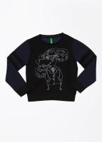United Colors of Benetton Full Sleeve Printed Boys Sweatshirt