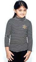 Ventra Full Sleeve Striped Girls Sweatshirt