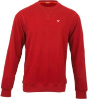 Wildcraft Full Sleeve Solid Men's Sweatshirt