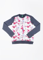 United Colors of Benetton. Full Sleeve Printed Girls Sweatshirt