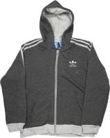 Adidas Full Sleeve Solid Boys Sweatshirt