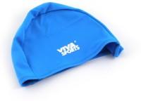 Viva Sports Lycra Swimming Cap(Blue, Pack of 1)