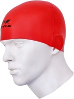 Nivia Free Style Swimming Cap(Red, Pack of 1)