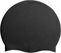KAAS Essential Swimming Cap(Black, Pack of 1)