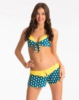 PrettySecrets Polka Print Women's Swimsuit