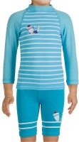 Tribord Uv Kit Baby Sailor Striped Boys Swimsuit