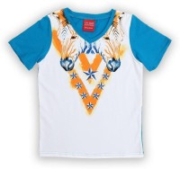 Lilliput Boys Printed T Shirt(Multicolor, Pack of 1)