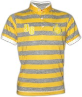 Fingerchips Boys Printed T Shirt(Yellow Pack of 1)
