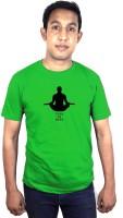 SVX Printed Men's Round Neck Green T-Shirt