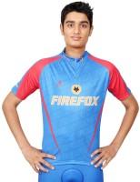 Triumph Firefox Printed Mens Round Neck Blue T-Shirt
