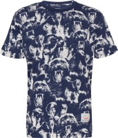 Status Quo Cubs Graphic Print Boys Round Neck White T-Shirt