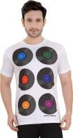 Tantra Graphic Print Mens Round Neck White T-Shirt