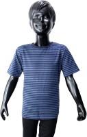 Starsy Boys Printed Cotton T Shirt(Dark Blue, Pack of 1)