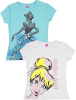Disney Princess Boys Printed T Shirt(White)