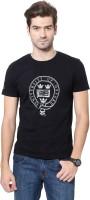 University of Oxford Printed Men's Round Neck Black T-Shirt