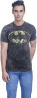 DC Comics Printed Men's Round Neck Black T-Shirt