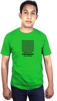 SVX Printed Men Round Neck Green T-Shirt