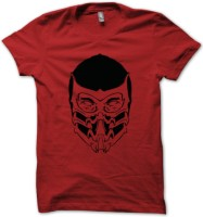 Rawpockets Graphic Print Men's Round Neck Red T-Shirt