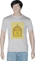 Tshirt.in Graphic Print Mens Round Neck Grey T-Shirt