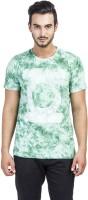 DC Comics Printed Men's Round Neck Green T-Shirt