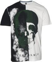 Huetrap Graphic Print Men's Round Neck White T-Shirt