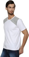 Casual Tees Solid Men's Round Neck White, Grey T-Shirt thumbnail