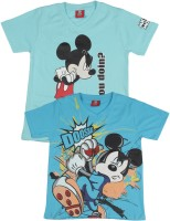 Disney Mickey Boys Printed T Shirt