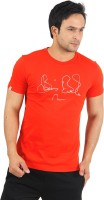 Puma Graphic Print Men's Round Neck Red T-Shirt