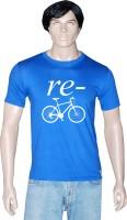 Tshirt.in Graphic Print Men Round Neck Blue T-Shirt