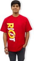 Epic Ink Graphic Print Men Round Neck Red T-Shirt